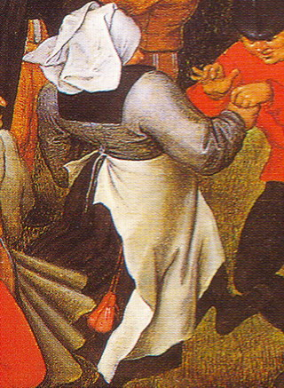 Detail from The Peasant Wedding Dance by Pieter Bruegel