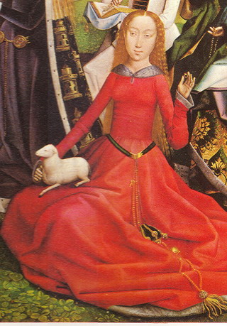 Madonna with the Female Saints 1489 - Annon.