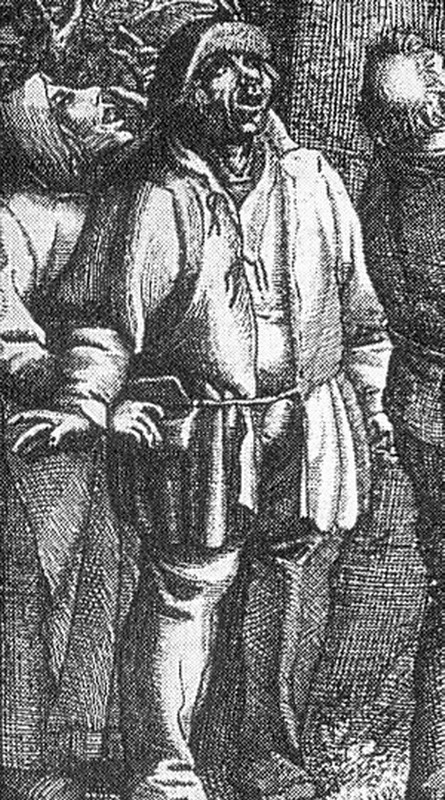 Detail from De Nestuithaler by Claes Jansz Visscher 1620