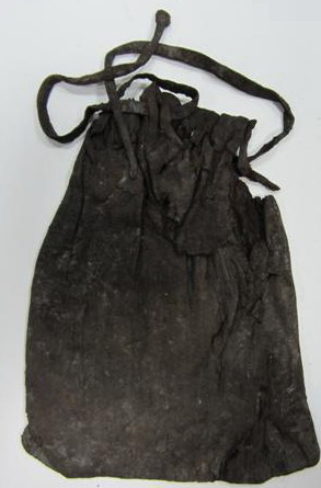 15th century purse in the Museum of London