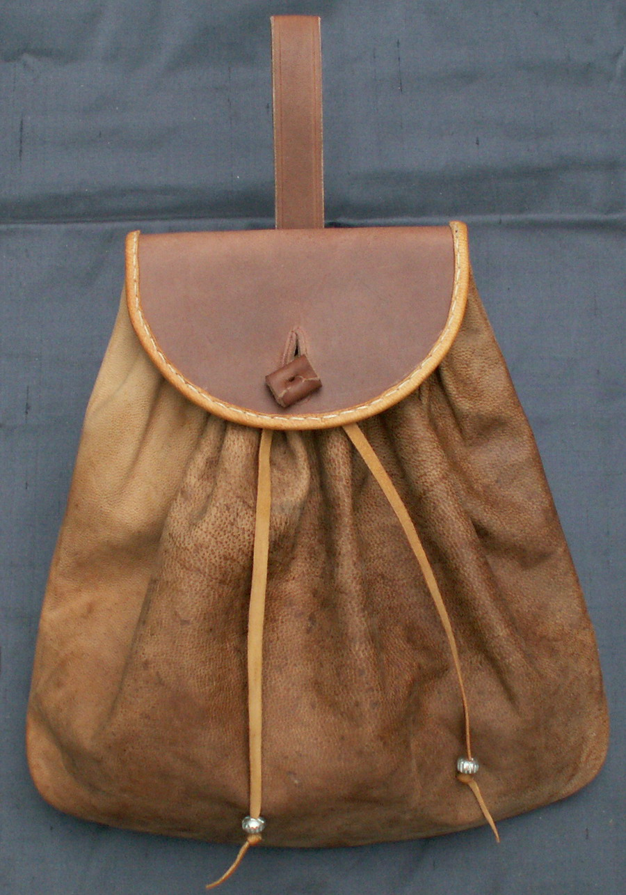 17th century belt bag