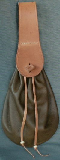 Ladies 17th century narrow belt purse