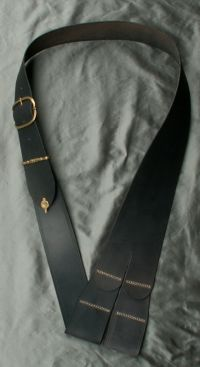17th century buckled baldric