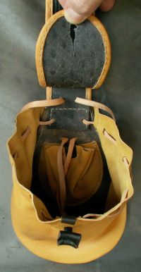 Buff infantry baldric.