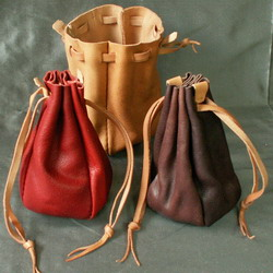 Round Money Purses